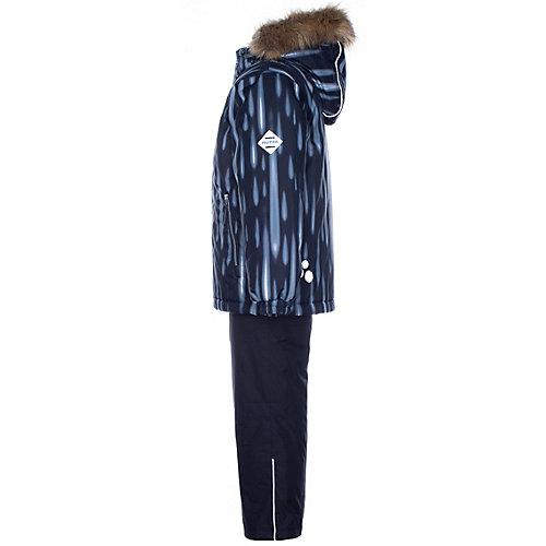 Комплект Huppa Dante: куртка и полукомбинезон - черный от Huppa
