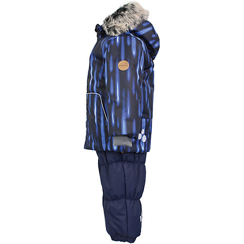 Комплект Huppa Russel: куртка и полукомбинезон - темно-синий от Huppa