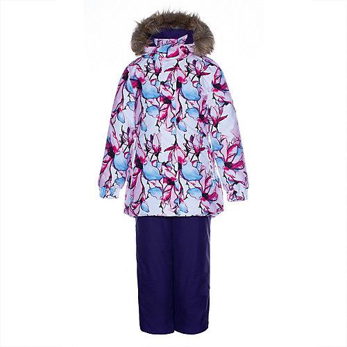 Комплект Huppa Renely: куртка и полукомбинезон - белый от Huppa