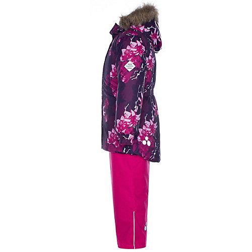 Комплект Huppa Renely: куртка и полукомбинезон - бордовый от Huppa