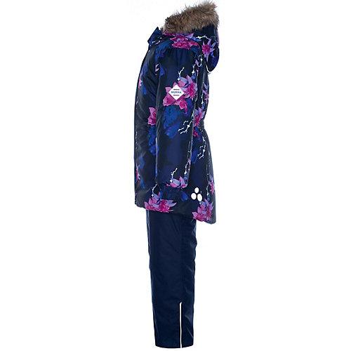 Комплект Huppa Renely: куртка и полукомбинезон - темно-синий от Huppa