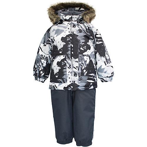 Комплект Huppa Avery: куртка и полукомбинезон - черный от Huppa