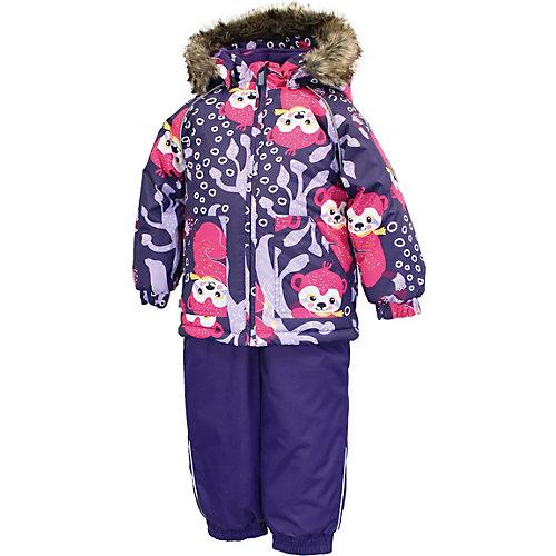 Комплект Huppa Avery: куртка и полукомбинезон - лиловый от Huppa