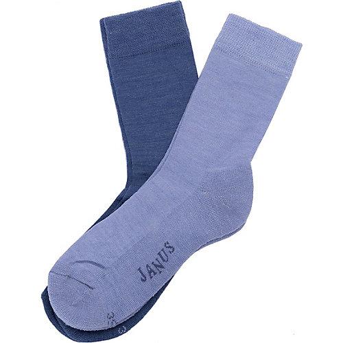 Носки Janus, 2 пары - голубой от Janus
