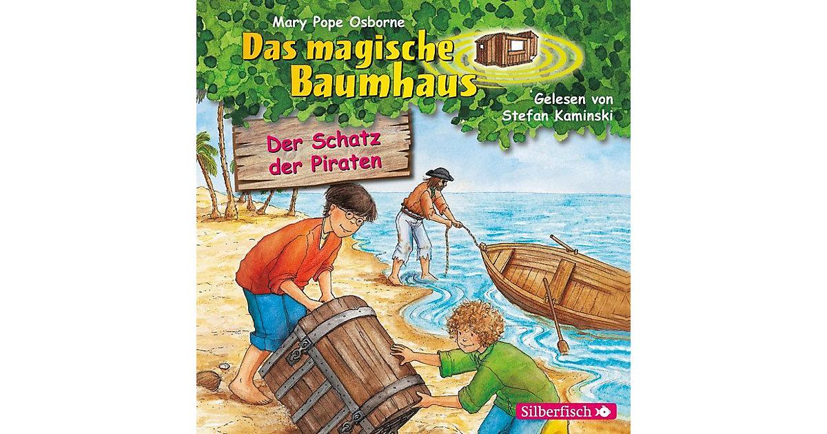 Das magische Baumhaus: Der Schatz der Piraten, 1 Audio-CD Hörbuch