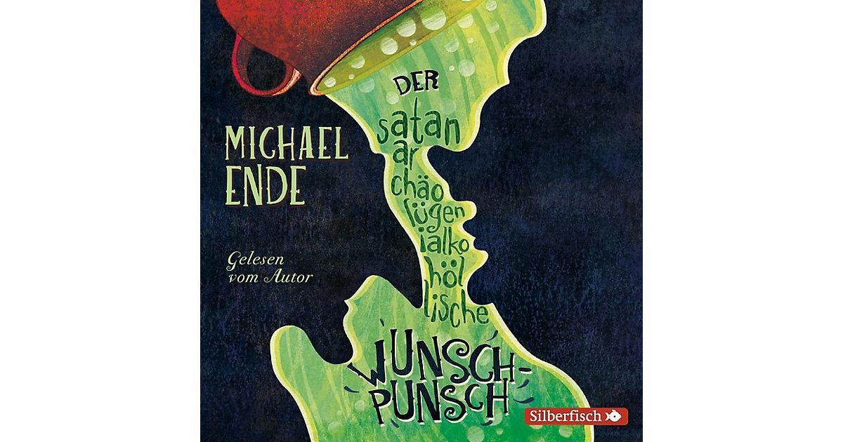 Der satanarchäolügenialkohöllische Wunschpunsch: Die Autorenlesung, 3 Audio-CDs Hörbuch