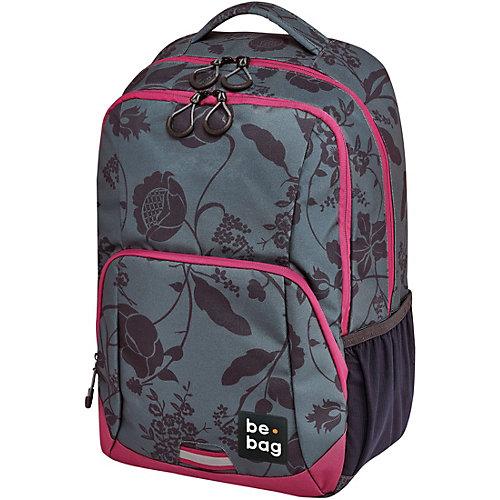 Рюкзак Herlitz  Be.bag Be. Freestyle Romantic flowers - серый