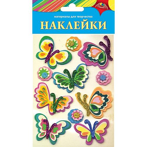 """Наклейки Апплика """"Ассорти"""" Цветочки и бабочки 2 от АппликА"""