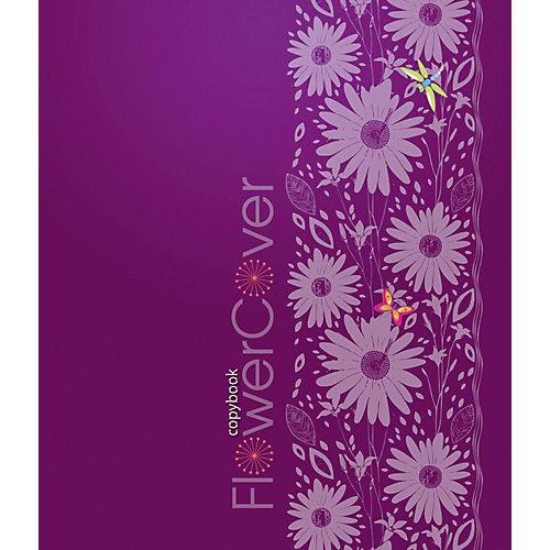 """Комплект тетрадей Апплика """"Цветной дизайн"""" 5 шт, клетка, 48 листов от АппликА"""