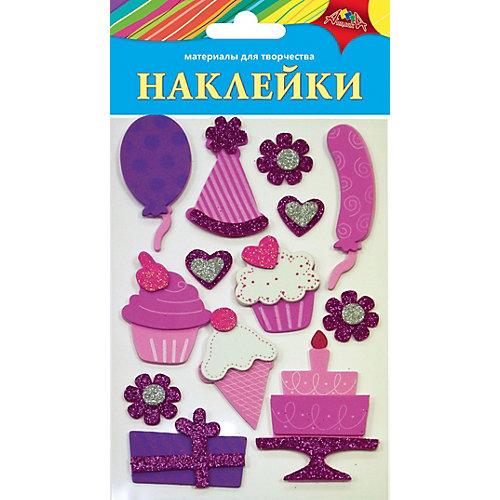 """Наклейки Апплика """"Ассорти"""" Праздничные от АппликА"""