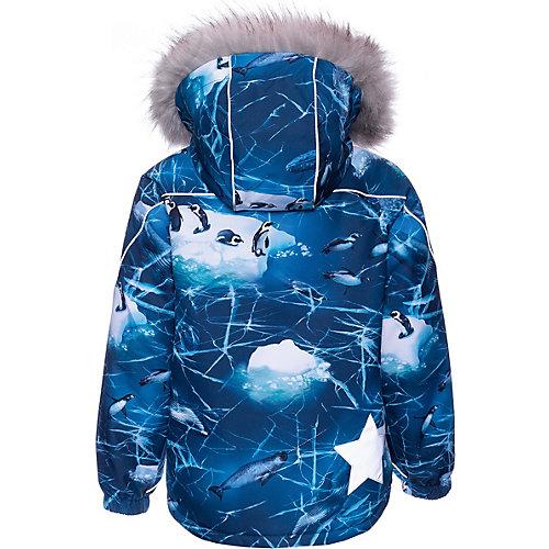 Утеплённая куртка Molo - синий