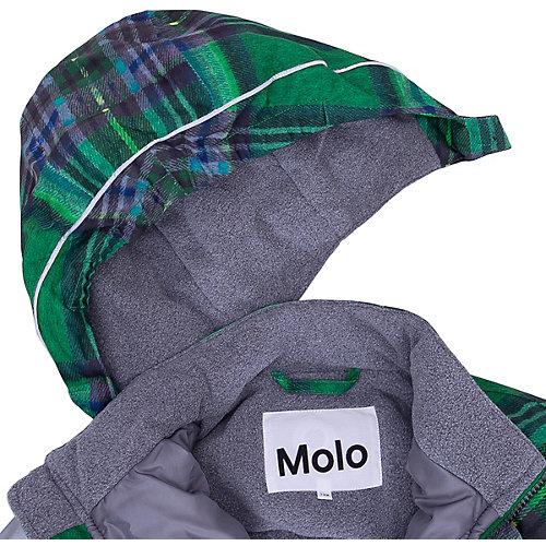 Утеплённый комбинезон Molo - зеленый от Molo