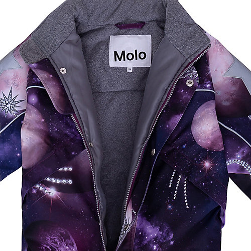 Утеплённый комбинезон Molo - лиловый от Molo
