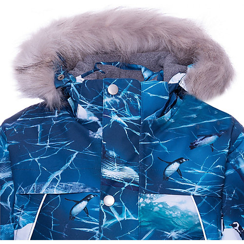 Утеплённая куртка Molo - синий от Molo