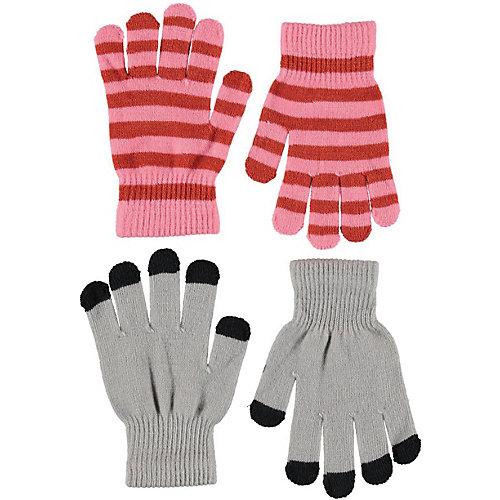 Перчатки Molo, 2 пары - серый от Molo