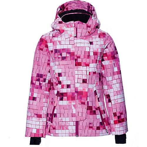 Утеплённая куртка Molo - розовый от Molo