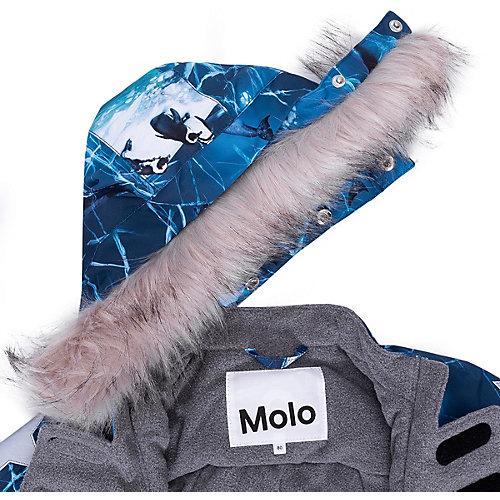Утеплённый комбинезон Molo - синий от Molo