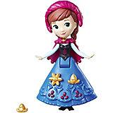 """Мини-кукла Disney Princess """"Холодное сердце"""", Анна в синем платье"""