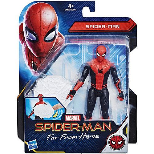 Игровая фигурка Spider-Man Человек-Паук с паутинным щитом, 15 см от Hasbro