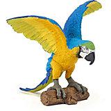 Игровая фигурка PaPo Голубой попугай Ара