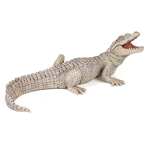 Игровая фигурка PaPo Белый крокодильчик