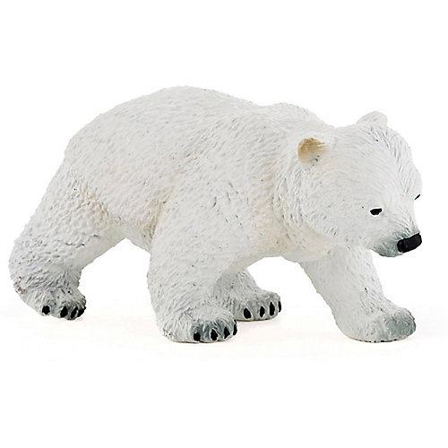 Игровая фигурка PaPo Идущий полярный медвежонок