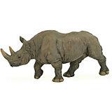 Игровая фигурка PaPo Чёрный носорог