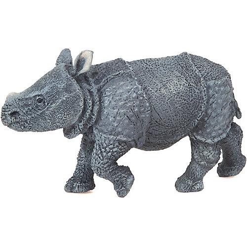 Игровая фигурка PaPo Детёныш индийского носорога от papo