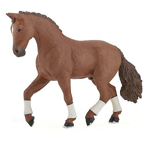 Игровая фигурка PaPo Гнедая Ганноверская лошадь от papo
