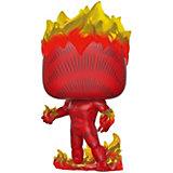 """Фигурка Funko POP! Bobble: Marvel: """"80-е: Первое появление"""" Человек-факел, 42653"""