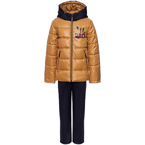 Комплект Boom by Orby: куртка и брюки - желтый от BOOM by Orby
