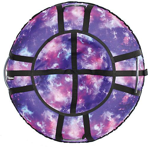 "Тюбинг Hubster Люкс Pro ""Галактика"" - фиолетовый от Hubster"