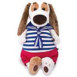 Мягкая игрушка Budi Basa Собака Бартоломей в морском костюме, 27см