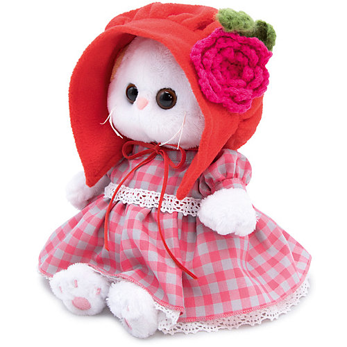 Мягкая игрушка Budi Basa Кошечка Ли-Ли Baby в красной шапочке, 20 см от Budi Basa