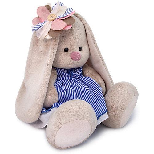 Мягкая игрушка Budi Basa Зайка Ми с полосатым цветком, 18 см от Budi Basa