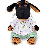 Мягкая игрушка Budi Basa Собака Ваксон Baby в рубашке и трусах, 20 см