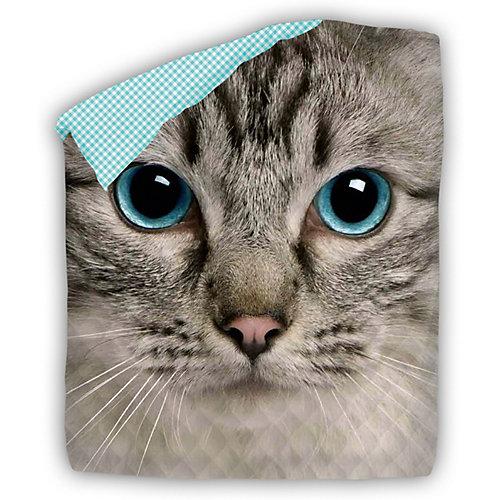 Покрывало стеганое 4 YOU Cute Cat - желтый