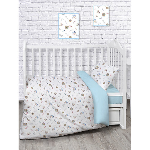 Детское постельное белье Непоседа «Птенцы» - голубой от Непоседа