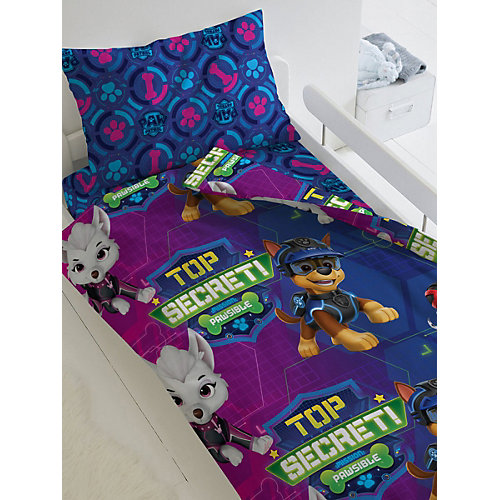 Детское постельное белье 1,5 сп Непоседа «Щенячий патруль. Щенки и шпионы» - синий