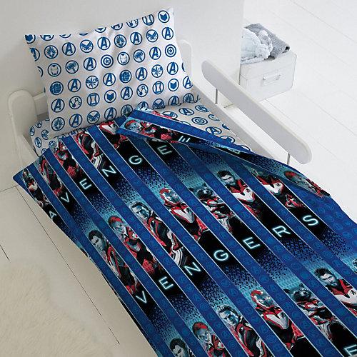 Детское постельное белье 1,5 сп Непоседа «Мстители. Avengers» - синий от Непоседа