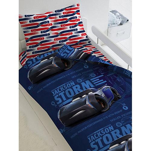 Детское постельное белье 1,5 сп Непоседа «Тачки. Джексон Шторм» - синий от Непоседа