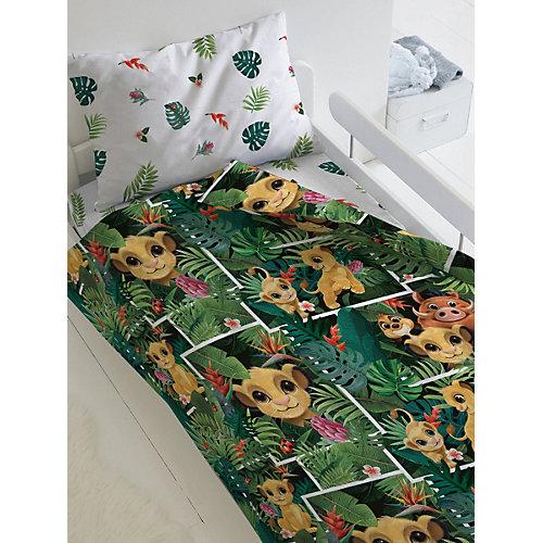 Детское постельное белье 1,5 сп Непоседа «Король Лев» - зеленый от Непоседа