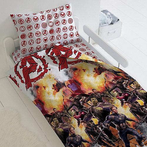 Детское постельное белье 1,5 сп Непоседа «Мстители. Бой» - красный