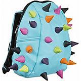 Рюкзак MadPax Rex Half Whirpool Aqua Multi, голубой с пеналом