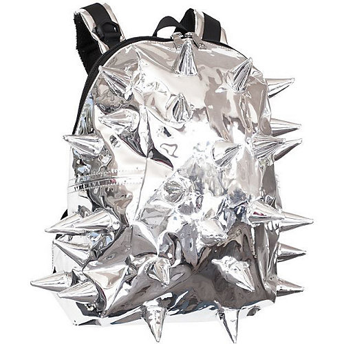 Рюкзак MadPax Rex Half Spike Chrome, серебристый с пеналом - серебряный от MadPax
