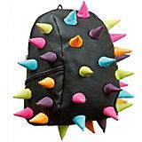 Рюкзак MadPax Rex Half Abracadabra Black Multi, черный с пеналом