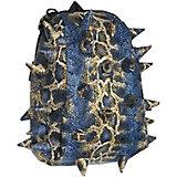 Рюкзак MadPax Pactor Half Boa Blue Gold, синий с пеналом