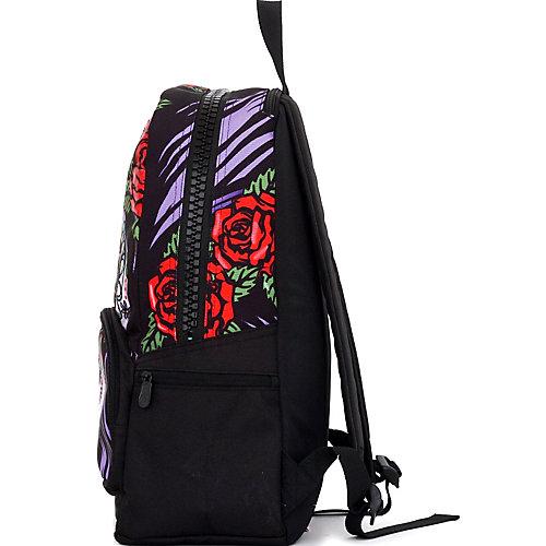 Рюкзак Mojo Pax Dia de Muerta LED, светящийся с пеналом - разноцветный от Mojo Pax