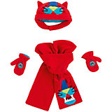 Комплект Tuc-Tuc: шапка, шарф и варежки