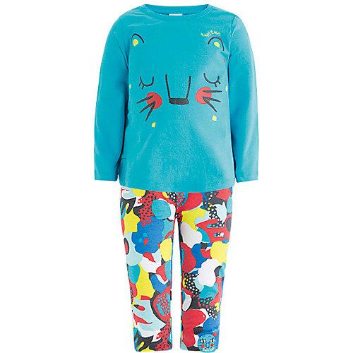 Комплект: футболка, леггинсы Tuc-Tuc - голубой от Tuc Tuc